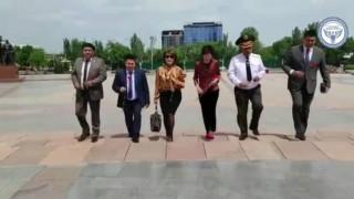 Поздравление руководства Министерства юстиции Кыргызской Республики к Дню Победы в Великой Отечественной войне