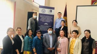 С 26 апреля по 7 мая 2021 г. по всем регионам Кыргызской Республики прошли встречи Центра по координации гарантированной государством юридической помощи при Министерстве юстиции Кыргызской Республики (ЦК ГГЮП) с представителями неправительственных организ